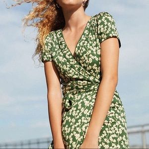 Urban outfitters green dress